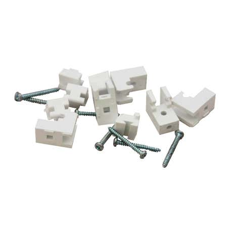 Pack of 5 Plastic Brackets