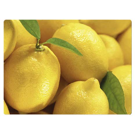 Yellow Lemon Work Top Surface Protector