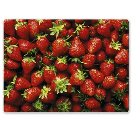 Strawberry Work Top Surface Protector