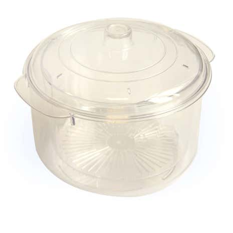 Microwise Stain Free Microwave Steamer and Casserole Dish