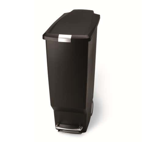 Simplehuman 40 Litre Slim Black Recycle Bin