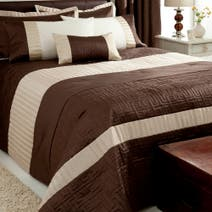 Chocolate Athens Bedspread