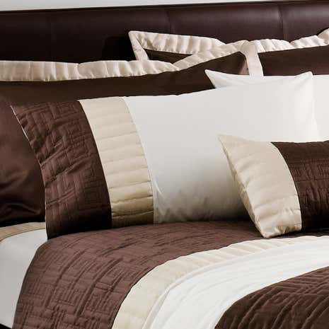 Chocolate Athens Housewife Pillowcase