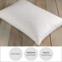 Wash Me Duck Feather and Down Soft-Support Pillow