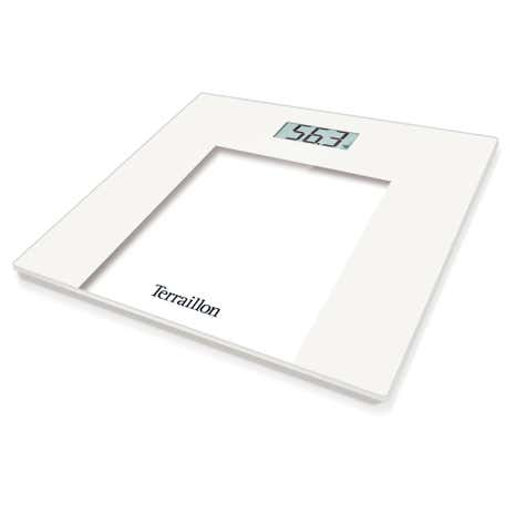 Hanson Hx6000 White Slim Glass Electronic Scales