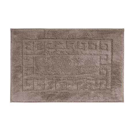luxury cotton nonslip bath mat