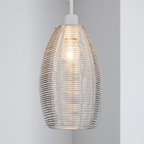 Cigar Wire Pendant Shade