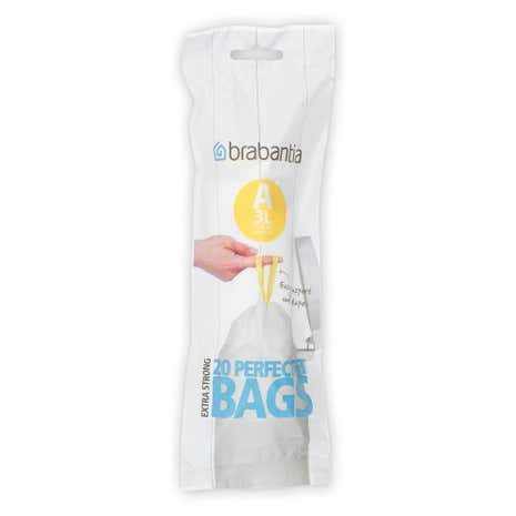 Brabantia 3 Litre Clear Waste Bags