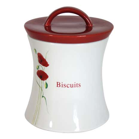 Poppy Biscuit Storage Jar