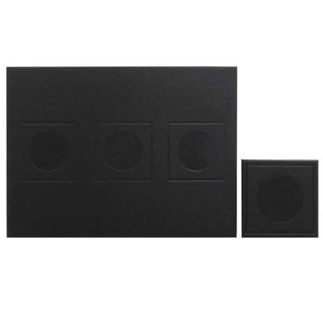 Geo Brown Set of 4 Placemats and Coaster Pack