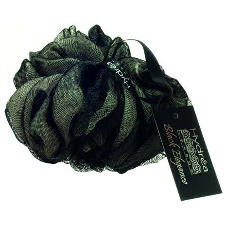 Black Elegance Bath Scrunchie