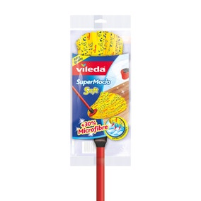 Vileda Supermocio Soft Head and Handle
