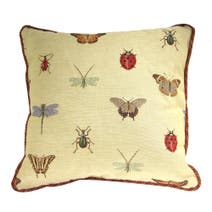 Beige Bugs Chair Cushion