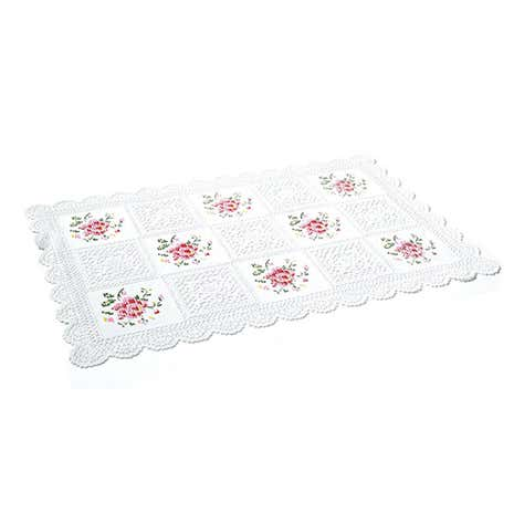 Cross Stitch Tray Cloth