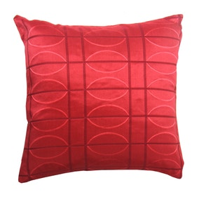 Electro Red Cushion Cover