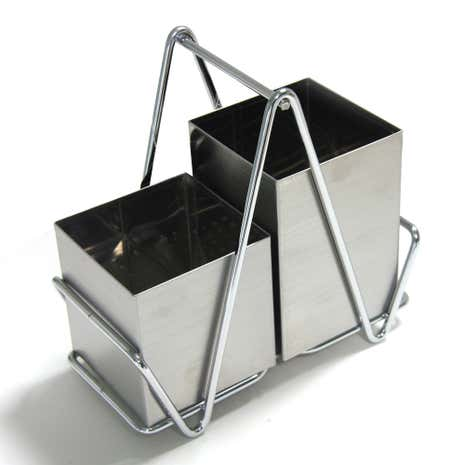 Sirius Stainless Steel Cutlery Holder