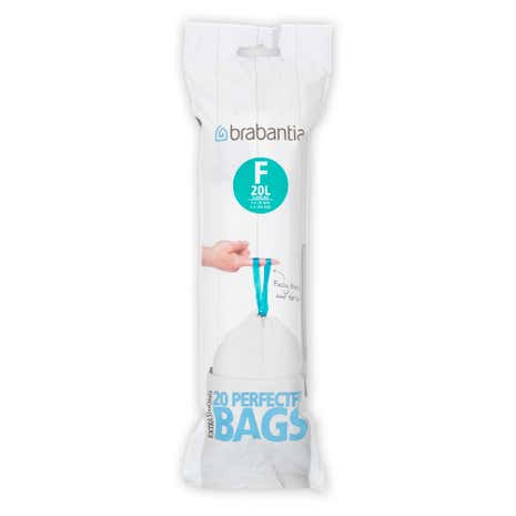 Brabantia 20-Litre Smart Fix Slim Waste Bags