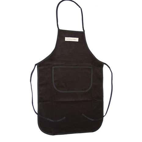 Cord Collection Black Apron