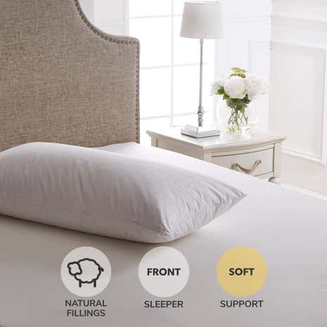dorma hungarian goose down softsupport pillow