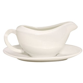 Pausa Gravy Boat and Saucer