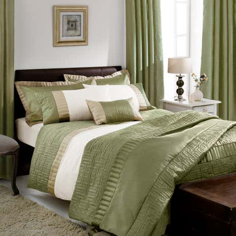 Green Athens Duvet Cover