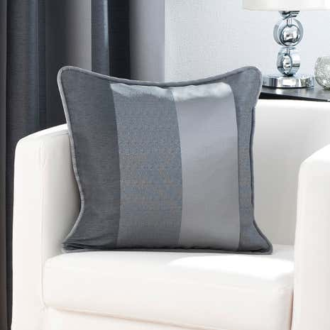 Pewter Monaco Cushion