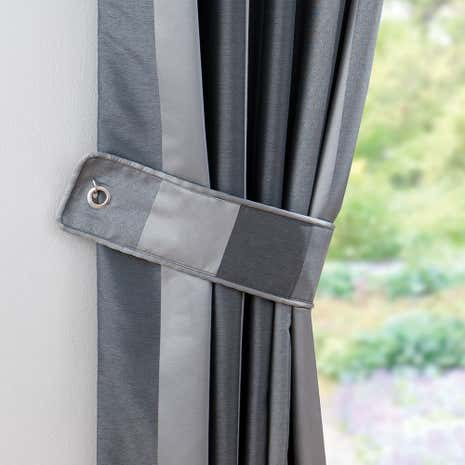 Pewter Monaco Tiebacks