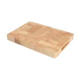 T & G Hevea End Grain Chopping Board
