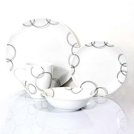 Ellipse 16 Piece Dinner Set