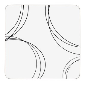 Ellipse Pack of 6 Coasters