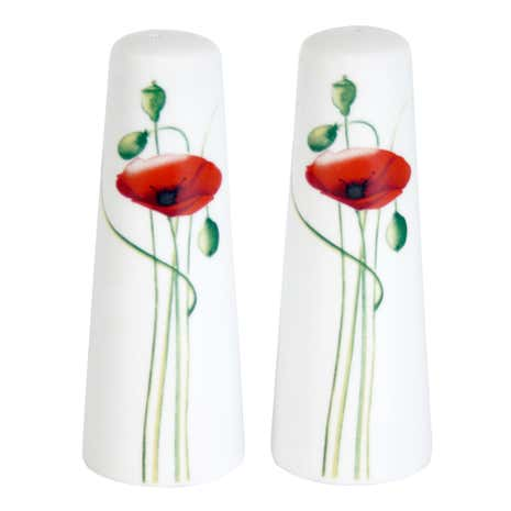 Poppy Salt and Pepper Pots