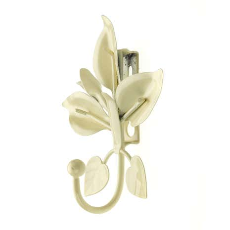 Vintage Lily Flower Curtain Hook