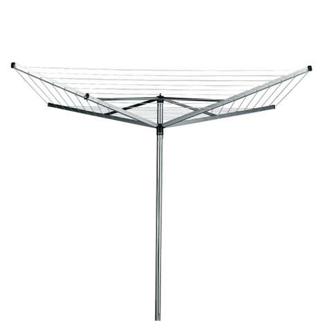 brabantia 40 metre 4 arm compact rotary airer with free cover dunelm. Black Bedroom Furniture Sets. Home Design Ideas