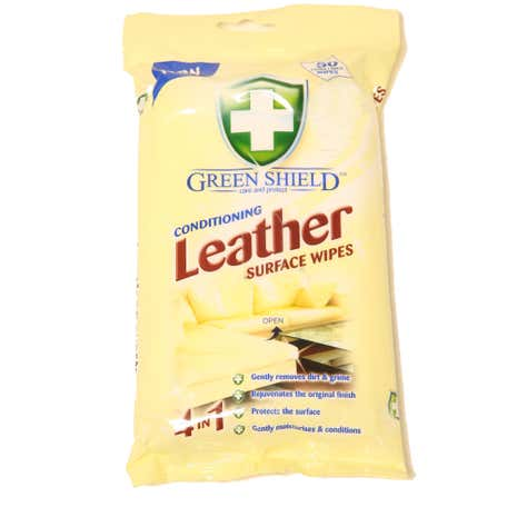 Conditioning Leather Surface Wipes