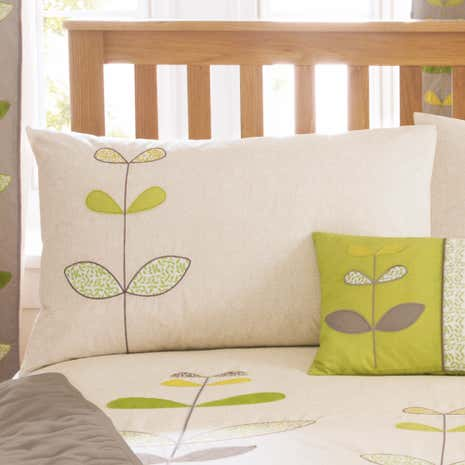 Green Naya Housewife Pillowcase