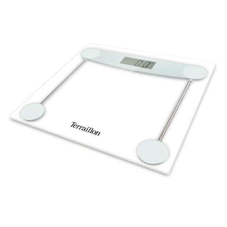 Hanson HX5000 Clear Glass Electronic Bathroom Scales