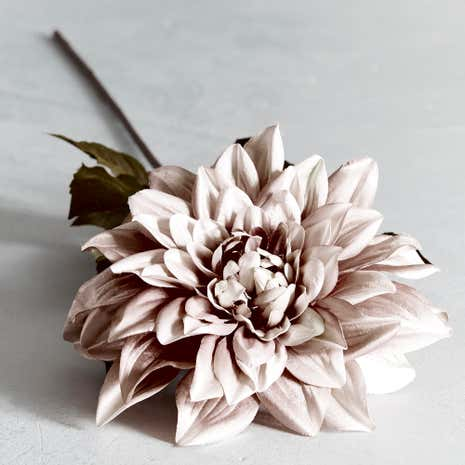 Premium Lustre Artificial Giant Dahlia Stem
