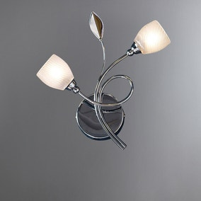Swirl 2-Light Wall Light