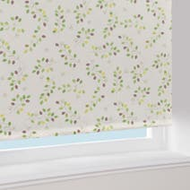 Modern Country Green Leaf Blackout Roller Blind