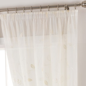 Folio Cream Voile Panel