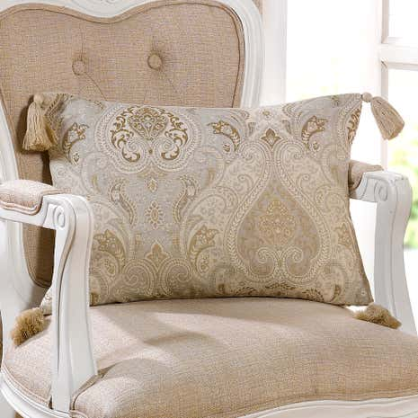 Novello Beige Boudoir Cushion