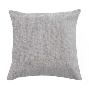 Chenille Grey Cushion