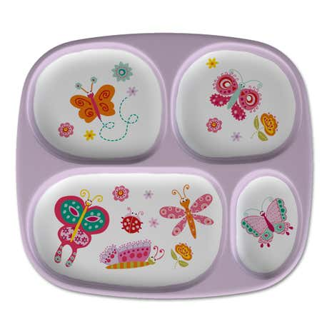 Butterflies Lunch Tray