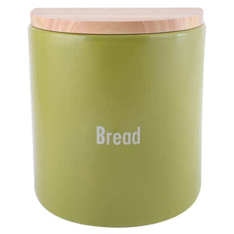 Modern Country Leaf Bread Bin