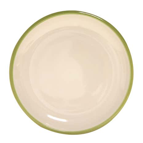 Modern Country Wide Rim Dinner Plate