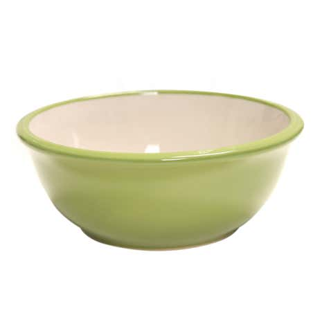 Modern Country Wide Rim Bowl