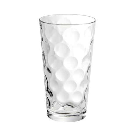 Bubbles Hiball Glass