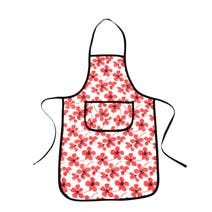 Painted Poppy Apron