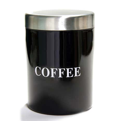 Black Spectrum Coffee Canister