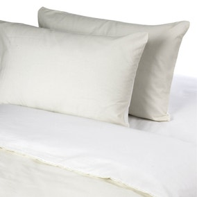 Luxury Non Iron Housewife Pillowcase Pair